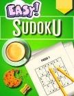 100 Easy Sudoku Puzzles Book for Adults - Large Print Cover Image