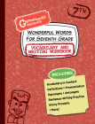 Wonderful Words for Seventh Grade Vocabulary and Writing Workbook: Definitions, Usage in Context, Fun Story Prompts, & More Cover Image