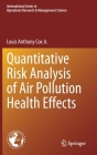 Quantitative Risk Analysis of Air Pollution Health Effects Cover Image