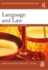 Language and Law: A Resource Book for Students (Routledge English Language Introductions) Cover Image