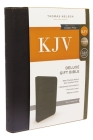 KJV, Deluxe Gift Bible, Imitation Leather, Black, Red Letter Edition Cover Image