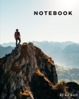 notebook: The adventure man on the mountain Cover Image