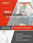 2021 Georgia Master Plumber Class II Unrestricted Contractor: Study Review & Practice Exams Cover Image