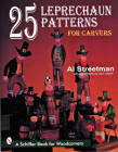 25 Leprechaun Patterns for Carvers Cover Image
