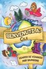 Benvenuti A Cile Diario Di Viaggio Per Bambini: 6x9 Diario di viaggio e di appunti per bambini I Completa e disegna I Con suggerimenti I Regalo perfet Cover Image