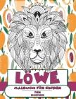 Malbuch für Kinder - Selbstliebe - Tier - Löwe Cover Image