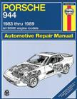 Porsche 944, 1983-1989 (Haynes Manuals) Cover Image