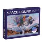 Space Bound 300 Piece Lenticular Puzzle Cover Image