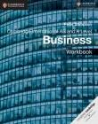 Cambridge International as and a Level Business Workbook Cover Image