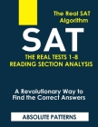 SAT the Real Tests 1-8 Reading Section Analysis Cover Image