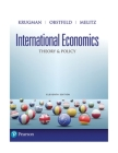 International Economics: Theory & Policy Cover Image