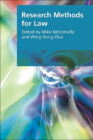Research Methods for Law (Research Methods for the Arts and Humanities) Cover Image