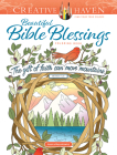 Creative Haven Beautiful Bible Blessings Coloring Book (Creative Haven Coloring Books) Cover Image