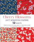Cherry Blossoms Gift Wrapping Papers 12 Sheets: High-Quality 18 X 24 Inch (45 X 61 CM) Wrapping Paper Cover Image