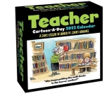 Teacher Cartoon-a-Day 2022 Calendar: A Daily Lesson in Humor Cover Image