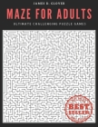 Maze for Adults: Ultimate Challenging Puzzle Games Cover Image
