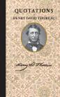 Quotations of Henry David Thoreau Cover Image