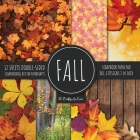 Fall Scrapbook Paper Pad 8x8 Scrapbooking Kit for Papercrafts, Cardmaking, Printmaking, DIY Crafts, Nature Themed, Designs, Borders, Backgrounds, Patt Cover Image