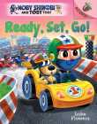 Ready, Set, Go!: An Acorn Book (Moby Shinobi and Toby Too! #3) (Library Edition) Cover Image