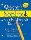 Webster's Notebook Spanish-English Dictionary Cover Image