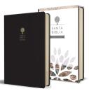 Santa Biblia RVR 1960 - Letra grande, imitación piel negra con imágenes de Tierra Santa / Spanish Holy Bible RVR 1960 - Large Print Cover Image