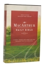 The Nkjv, MacArthur Daily Bible, 2nd Edition, Hardcover, Comfort Print: A Journey Through God's Word in One Year Cover Image