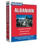 Pimsleur Albanian Level 1 CD: Learn to Speak and Understand Albanian with Pimsleur Language Programs (Compact #1) Cover Image