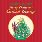Merry Christmas, Curious George (with stickers) Cover Image
