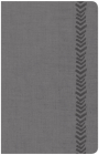 CSB Essential Teen Study Bible, Personal Size, Gray LeatherTouch Cover Image