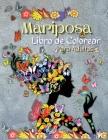 Libro de Colorear de Mariposas para Adultos: Libro para Colorear que Relaja y Alivia el Estrés, El Paraíso de la Creatividad Páginas para Colorear de Cover Image