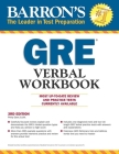 GRE Verbal Workbook (Barron's Test Prep) Cover Image