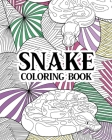 Snake Coloring Book Cover Image