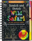 Scratch & Sketch Wild Safari (Trace Along) Cover Image
