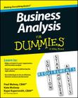 Business Analysis for Dummies Cover Image