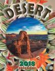 Desert 2018 Calendar (UK Edition) Cover Image