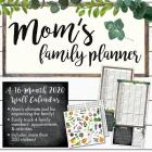 Cal-2020 Mom's Family Planner Wall Cover Image
