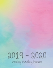 2019-2020 Monthly Planner: Academic Planner 24 Months Calendar with Monthly Tabs, Two Years, Flexible Cover Appointment Notebook, 8.5