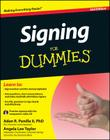 Signing for Dummies, with Video CD Cover Image
