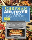 Chefman Air Fryer Toaster Oven Cookbook Cover Image