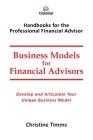 Business Models for Financial Advisors Cover Image