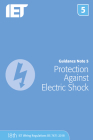 Guidance Note 5: Protection Against Electric Shock (Electrical Regulations) Cover Image