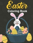Easter Coloring Book: Teens & Adults For Fun Activity Book and Easter Basket Stuffer Mandalas Patterns to Color Cover Image