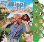 Blippi: Baby Farm Animals (10-Button Sound Books) Cover Image