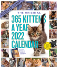 365 Kittens-A-Year Picture-A-Day Wall Calendar 2022 Cover Image