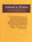 Nahuatl as Written: Lessons in Older Written Nahuatl, with Copious Examples and Texts (Nahuatl Studies Series;) Cover Image