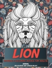 Mandala Coloring Book Relaxation and Stress Relief - Animal - Lion Cover Image