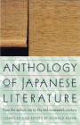 Anthology of Japanese Literature: From the Earliest Era to the Mid-Nineteenth Century (UNESCO Collection of Representative Works: European) Cover Image