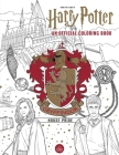 Harry Potter: Gryffindor House Pride: The Official Coloring Book: (Gifts Books for Harry Potter Fans, Adult Coloring Books) Cover Image