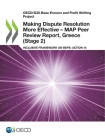 Oecd/G20 Base Erosion and Profit Shifting Project Making Dispute Resolution More Effective - Map Peer Review Report, Greece (Stage 2) Inclusive Framew Cover Image