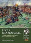 Like a Brazen Wall: The Battle of Minden, 1759, and Its Place in the Seven Years War (From Reason to Revolution) Cover Image